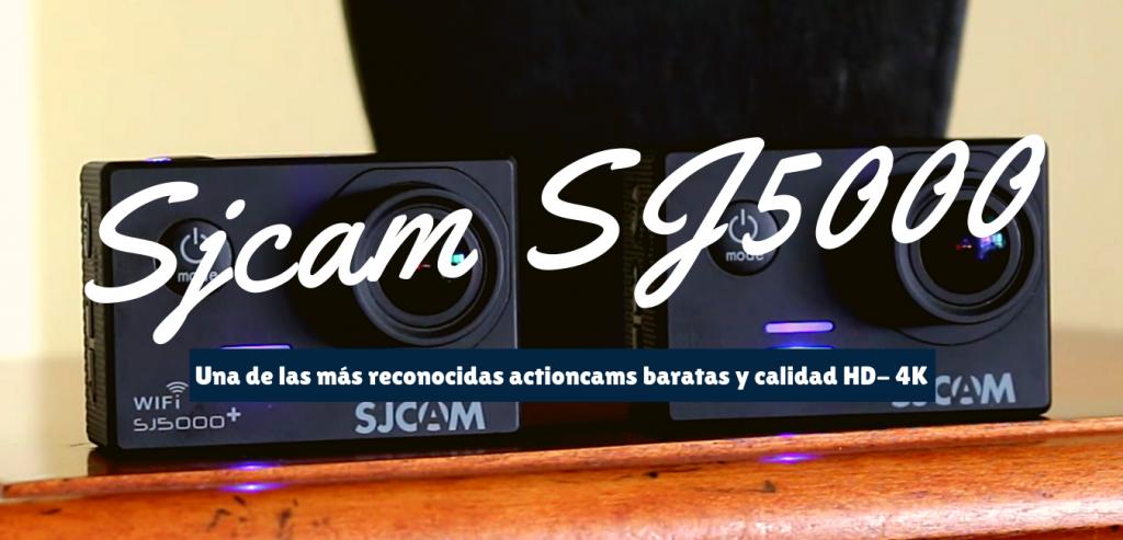 sjcam5000 camara deportiva de 100 euros